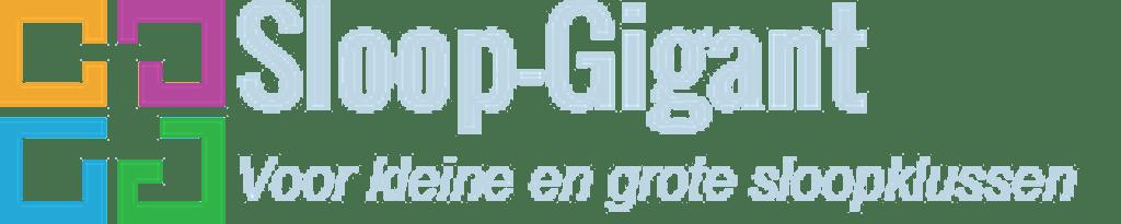 logo Sloopbedrijf Sloop Gigant
