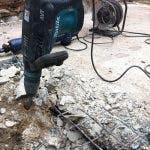 slopen betonvloer