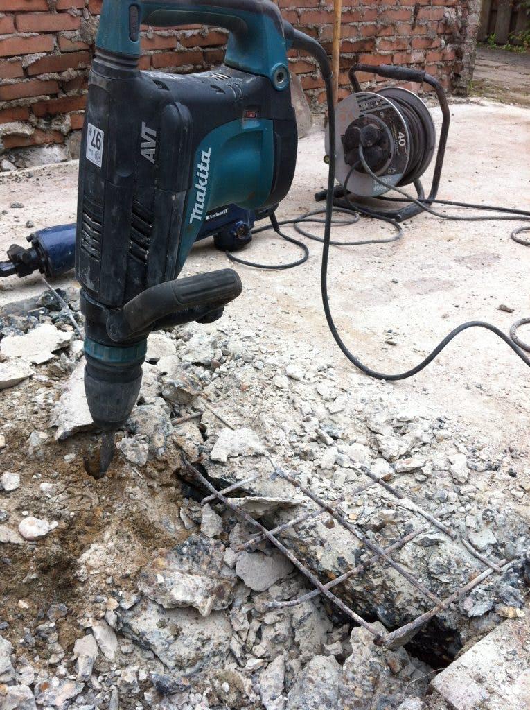betonvloer slopen in den haag